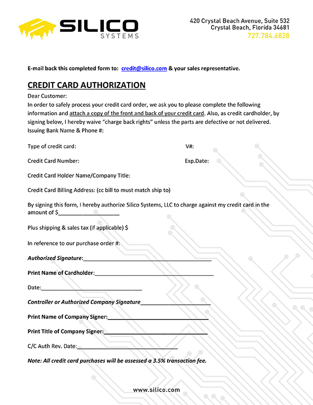 cc auth form
